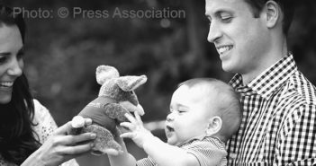Prince George of Cambridge's First Birthday