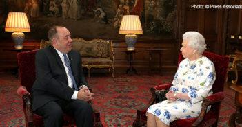 Queen Elizabeth II & Alex Salmond