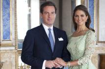 Princess Madeleine of Sweden and Mr. Chris O'Neill