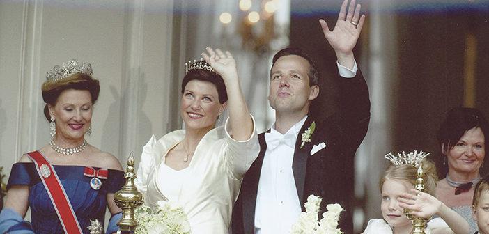 May 24, 2002. Princess Martha Louise of Norway weds Ari Behn.