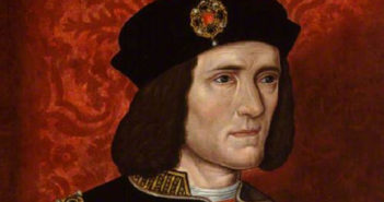 A portrait of King Richard III by an unknown artist