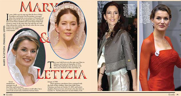 Princess Letizia and Princess Mary: Parallel Lives