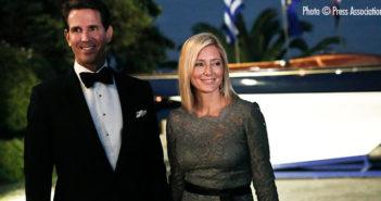 Crown Prince Pavlos and Crown Princess Marie-Chantal