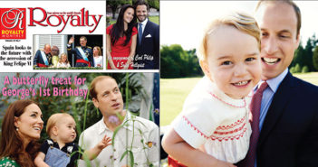 Prince George' on his second birthday by Mario Testino