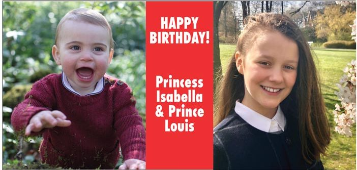 Happy Birthday Louis and Isabella