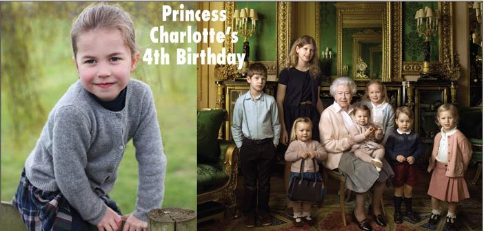 Princess Charlotte's 4th Birthday