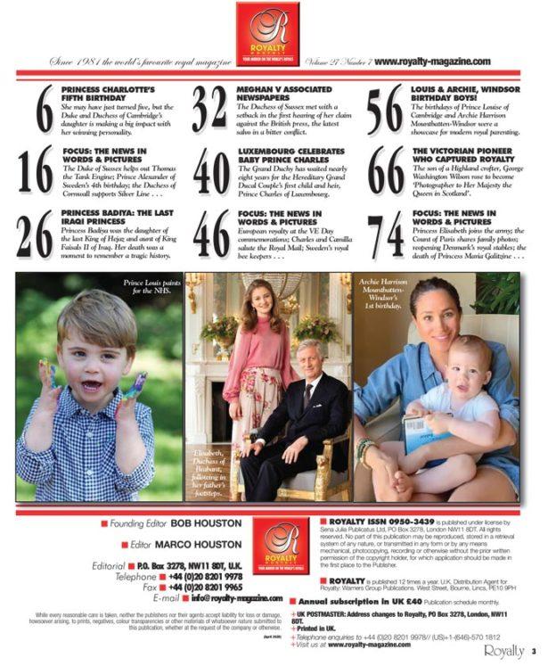 Royalty Magazine Volume 2707